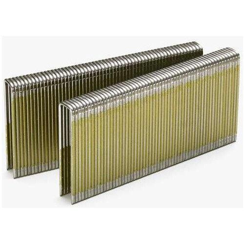 SENCO L14BRB 18-Gauge 1/4 in. x 1-1/8 in. Bright Basic Staples (5,000-Pack)