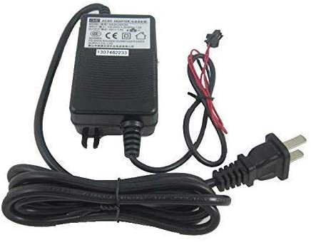 GREDIA Power Adapter AC110V 220/240V to DC24V 1.5A 36W Supply with Wire Lead SM-2P Connector for Digital LCD Display Flow Sensor Flowmeter Quantitative Controller