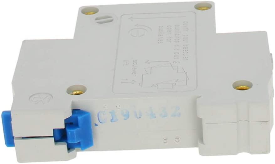 Fielect 1 Pole 32A 230/400V Low-voltage Miniature Circuit Breaker Din Rail Mount DZ47-63 C32 1Pcs