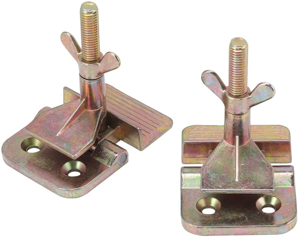 Goick Butter-Fly Hinge Clamp-2Pcs/Set Screen Printing Metal Butter-Fly Hinge Clamp DIY Hobby Tool