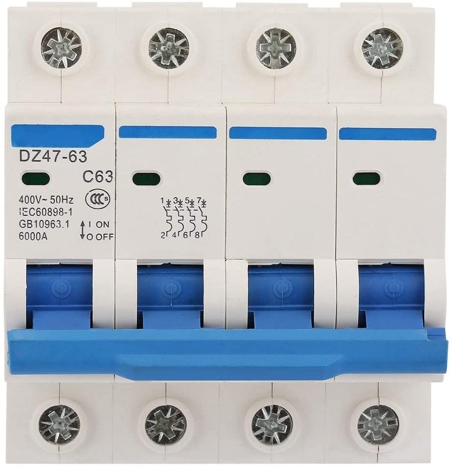 Beennex Leakage Protection DZ47-63 4P Residual Current Circuit Breaker 400V/63A Air Switch