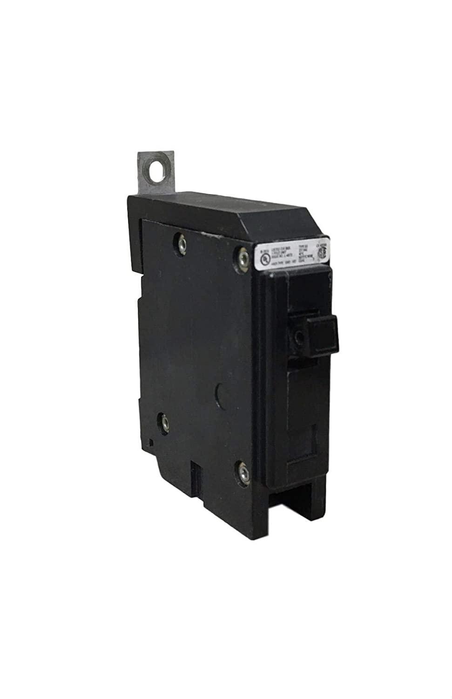 Eaton / Cutler Hammer GHQ1015 Series C Molded Case Circuit Breaker 15 Amp 277 Volt AC 1-Pole Bolt-On Mount