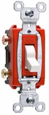 Legrand - Pass & Seymour Pass & Seymour CS20AC3LA 20 Amp 3 Way Hard Use Specification Grade Switch, Light Almond