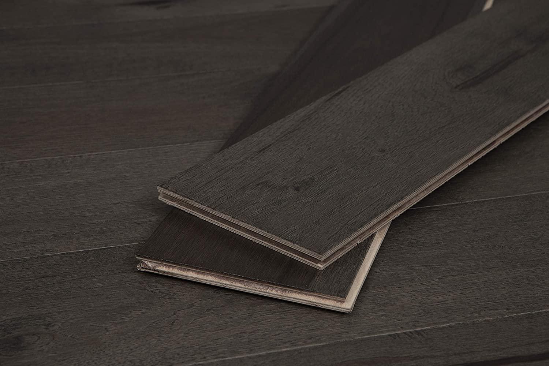 CALI Wood Plank Flooring, Delphi Hickory, 5