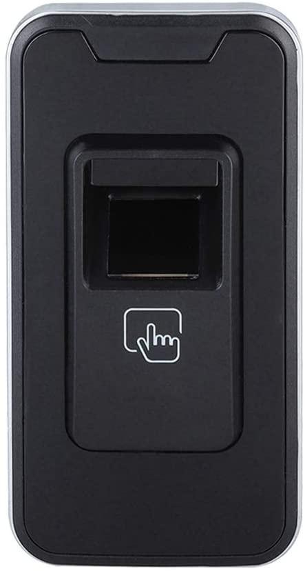 Ciglow Fingerprint Lock, Aluminum Intelligent Learning Fingerprint Lock for Shoe Cabinet Office Cabinet School Lockers Easy to Install