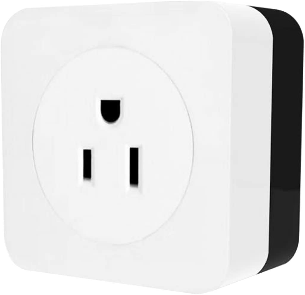 OWSOO Smart Plug,16A WiFi Air Conditioner Wall Plug Socket,Smart Outlet Companion,Smart Life Tuya APP Control,Compatible with Alexa Google Home