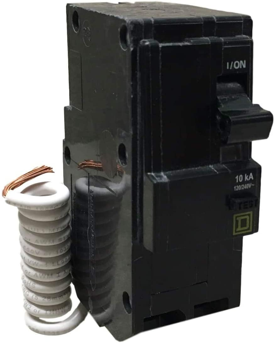SCHNEIDER ELECTRIC Miniature Circuit Breaker 120/240-Volt 15-Amp QO215EPD Sw Fusible Hd 240V 200A 3P No Ko Nema12