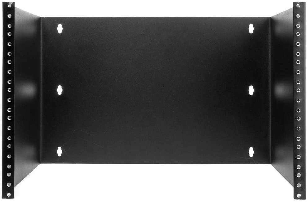GOWOS Rackmount Patch Panel Hinged Wall Bracket, 7U, 12.5 (H) x 19 (W) x 12 (D) inches