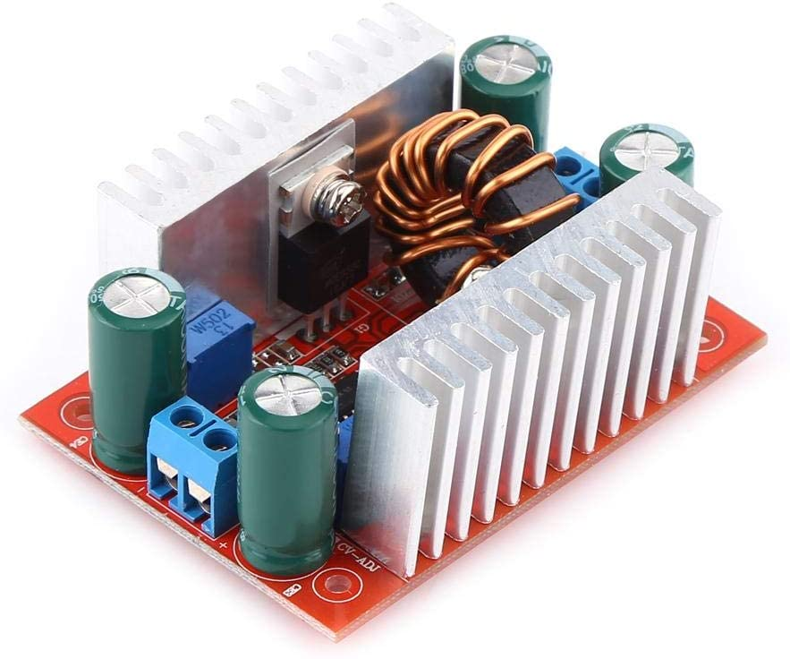 Voltage Transformer, 400W DC-DC Step-up Boost Converter Converter, Non-Isolated Constant Current Power Supply Module LED Solar Panel Driver