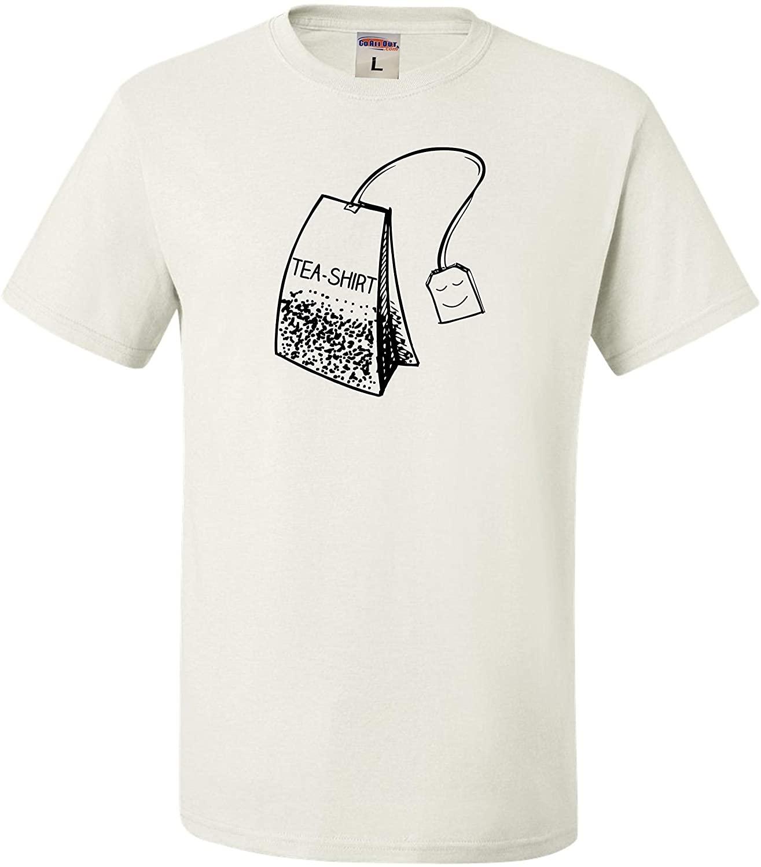 Go All Out Adult Tea Shirt Funny Tea Lovers Pun T-Shirt