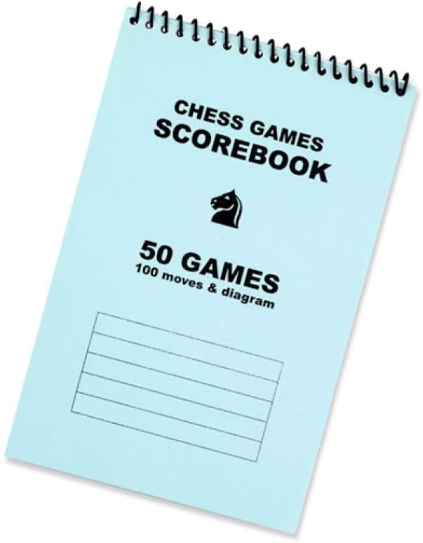 Ringbound Chess Scorepad - 50 Games