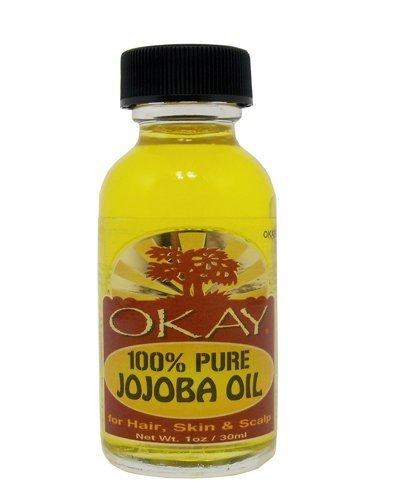Okay 100% Pure Oil, Jojoba, 1 Ounce by Okay