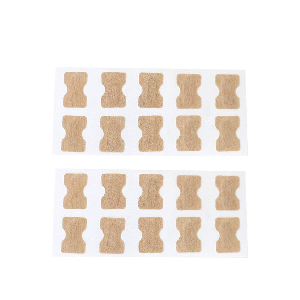 Exceart 2 Sets Foot Care Stickers Toenail Correction Sticker Glue-free for Men Women Professional Pedicure Paronychia Toenail Care Tool