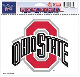 WinCraft Ohio State Buckeyes Removable 5