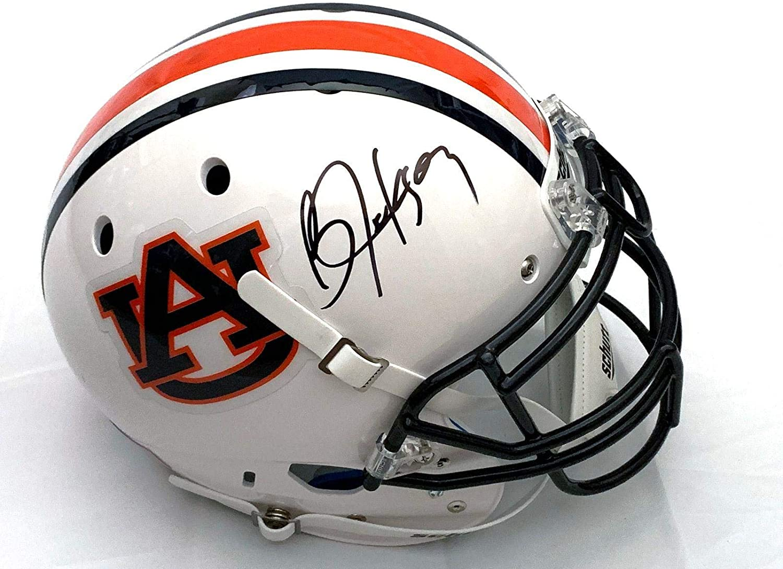 Bo Jackson Autographed Auburn Tigers Schutt Authentic Helmet JSA Witness - Autographed College Helmets