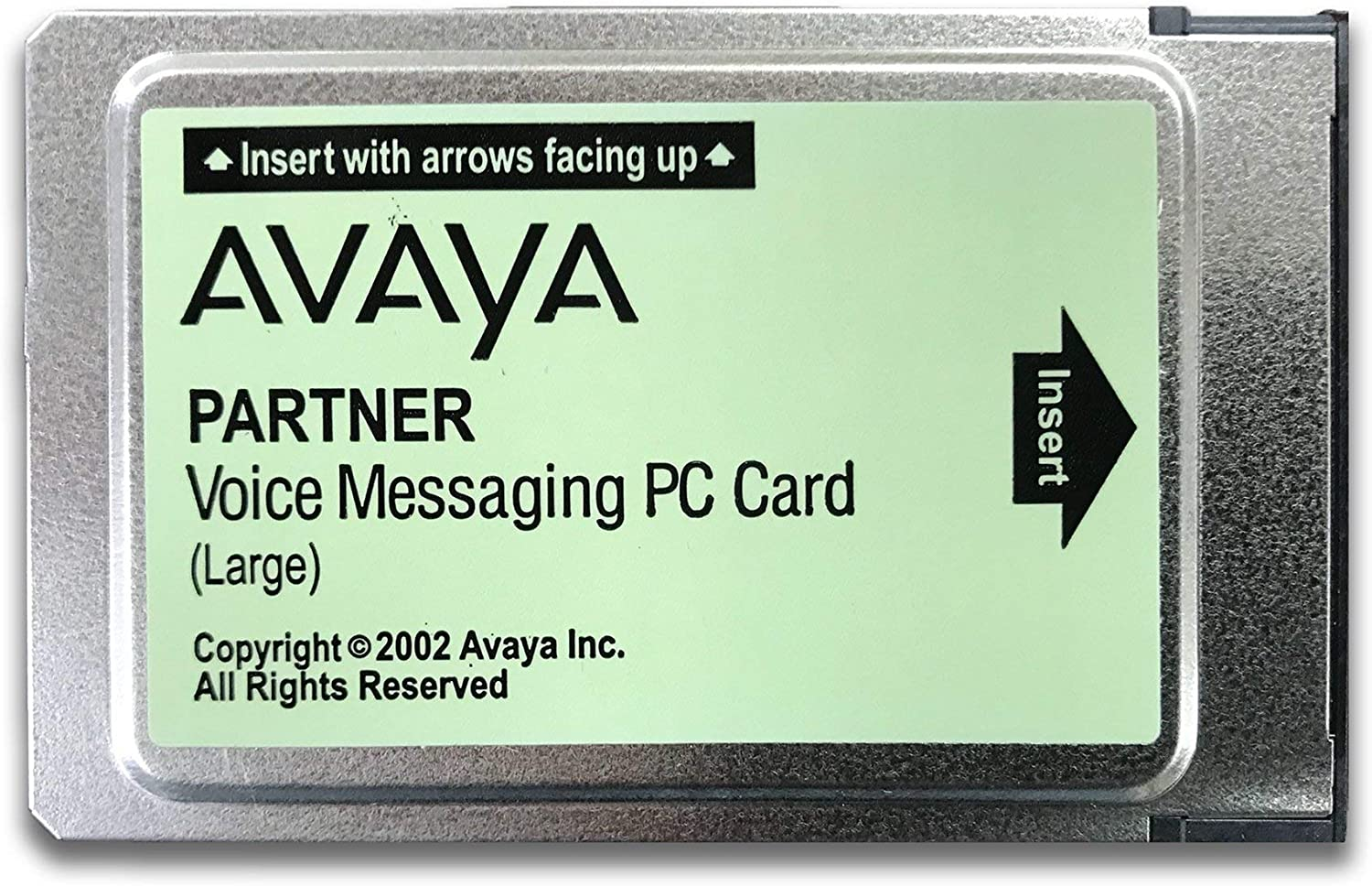 "Avaya Partner ACS Voice Messaging PC Card ""Large"" (Certified Refurbished)"