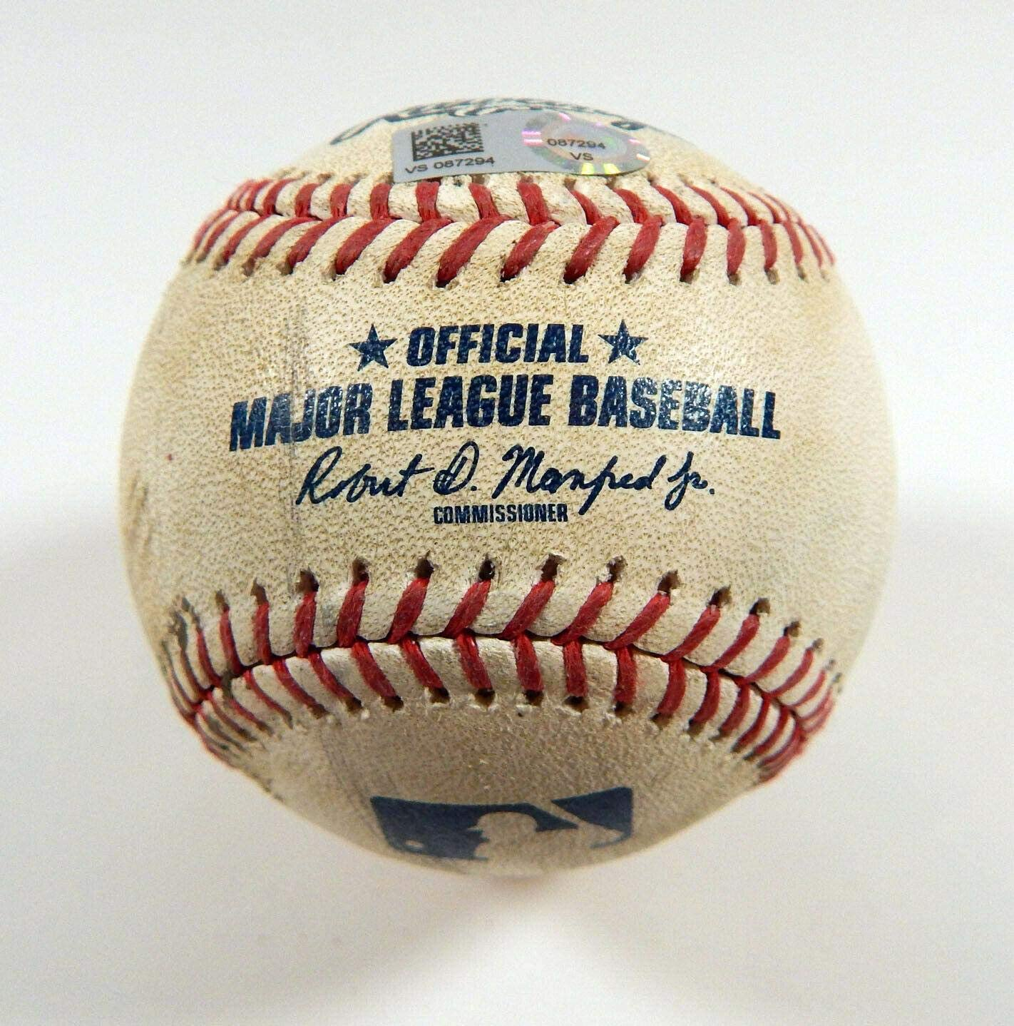 2019 Arizona Diamondbacks At Colorado Rockies Game Used Baseball McMahon Foul - Game Used Baseballs