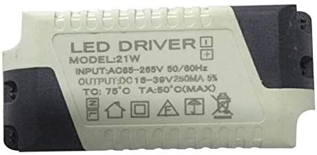 Dimmable LED Light Lamp Driver Transformer Power Supply 6/9/12/15/18/21W Rodalind