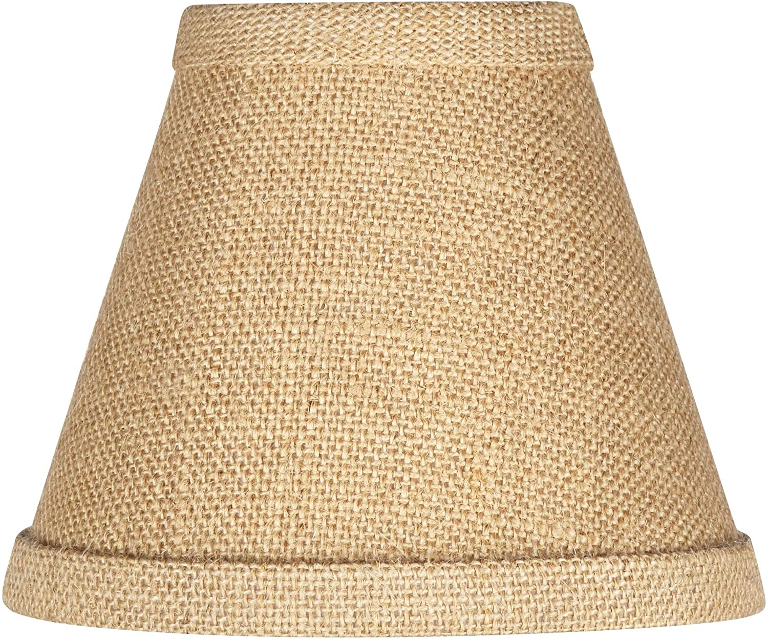 Woven Burlap Set of Four Shades 3x6x4 3/4 (Clip-On) - Brentwood