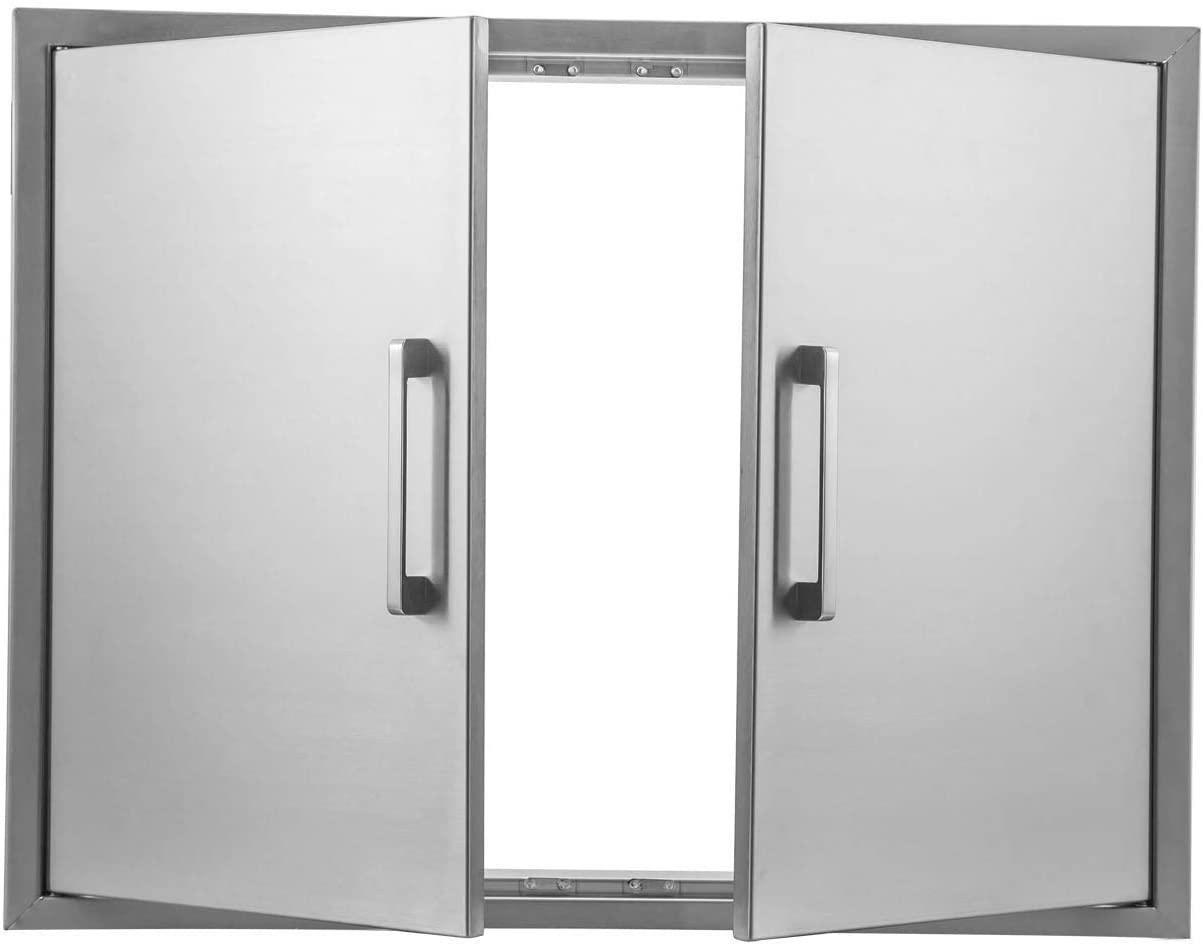 yuxiangBBQ Outdoor Kitchen Doors Stainless Steel,31
