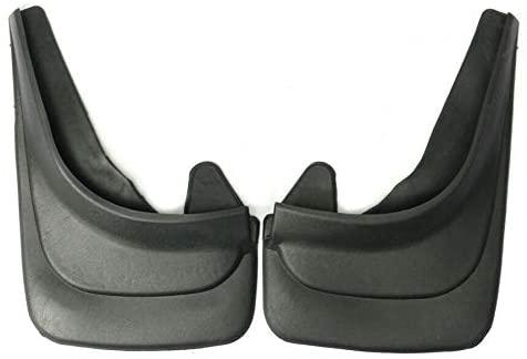 1 Pair Universal Black ABS Soft Plastic Car Truck Van Mud Flap Mudflaps Splash Guards Fender Accessories USA Ship Durable & Easy to install