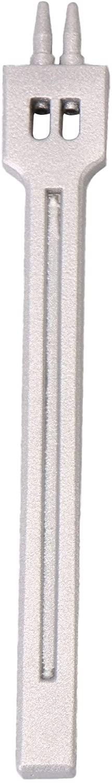 Yibuy Leather Hole Craft 4mm Spacing Round Row Hole Punch Stitching 2 Prong