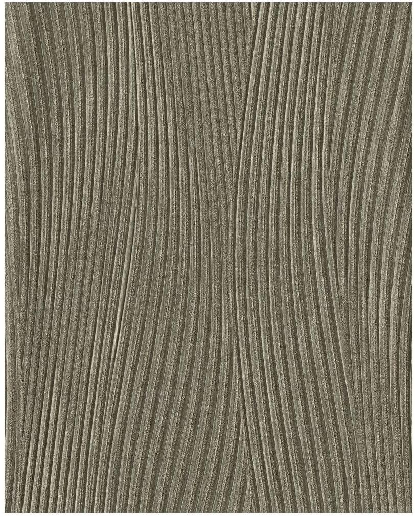 Monogram CW1681N Monterrat High Performance Wallpaper, Bronze
