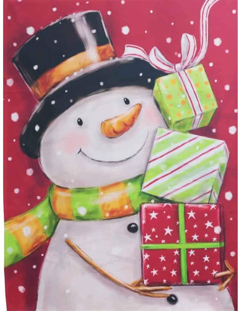 DIY 5D Christmas Diamond Painting Kits,CCOZN Christmas Snowman Full Drill Rhinestone Diamond Painting Diamond Arts for Beginner Adults Home Wall Decor, 15.8 X 11.8inch