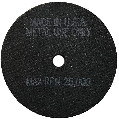 Cut-Off Wheel 3 x 3/32 x 3/8 Die Grinder 25,000 RPM Cutting Disc - USA (10)
