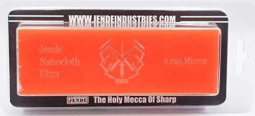 0.025 Micron Jende Nanocloth Knife Strop (unloaded) 2
