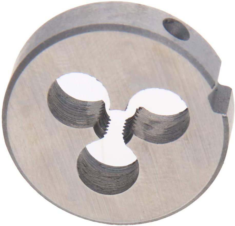 Utoolmart M3.5 X 0.6 Metric Round Die Machine Thread Die, 12mm OD Round Threading Die Alloy Steel 1Pcs