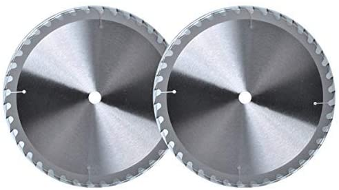 9 inch Table Saw Blade (2Pack 5/8 Arbor Circular Saw Blade 40T Universal fit Common Brush Cutter Trimmer Weed Eater Blade for Wooden