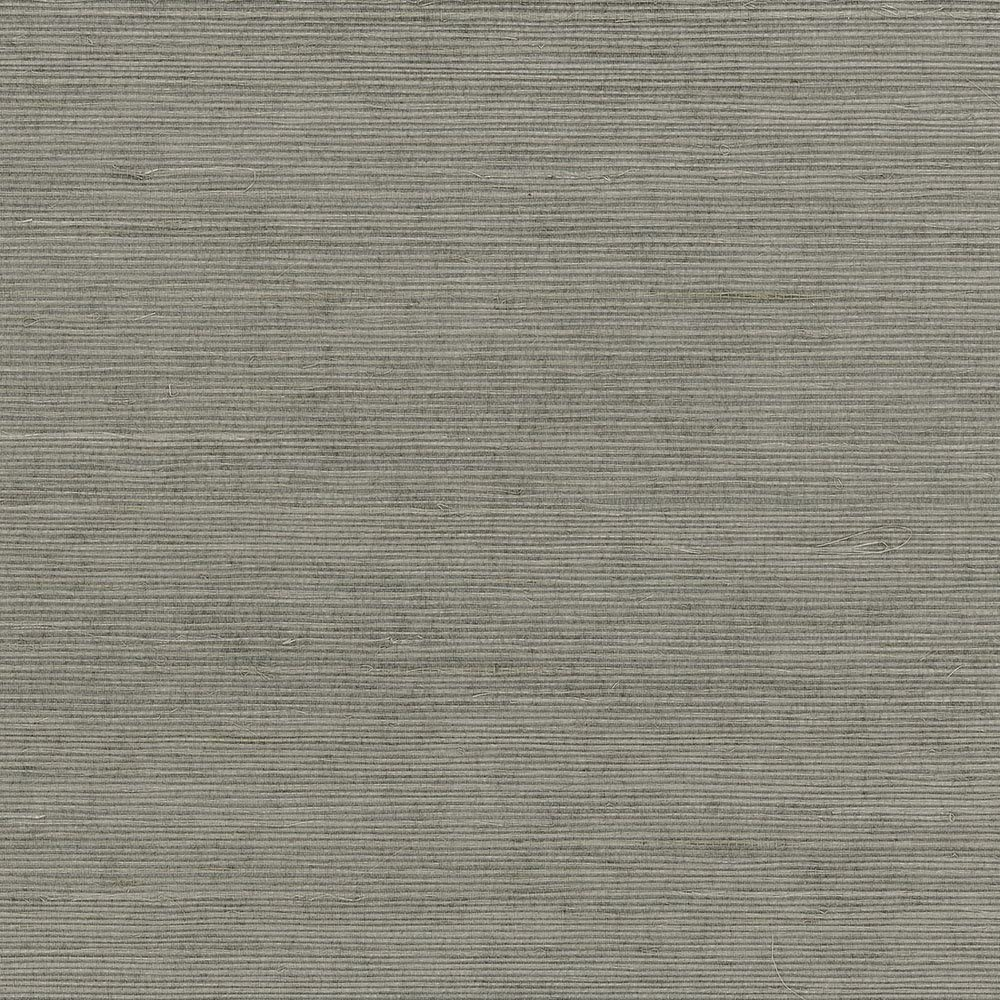 Patton Wallcoverings new488-410 Grasscloth Wallpaper, Grey