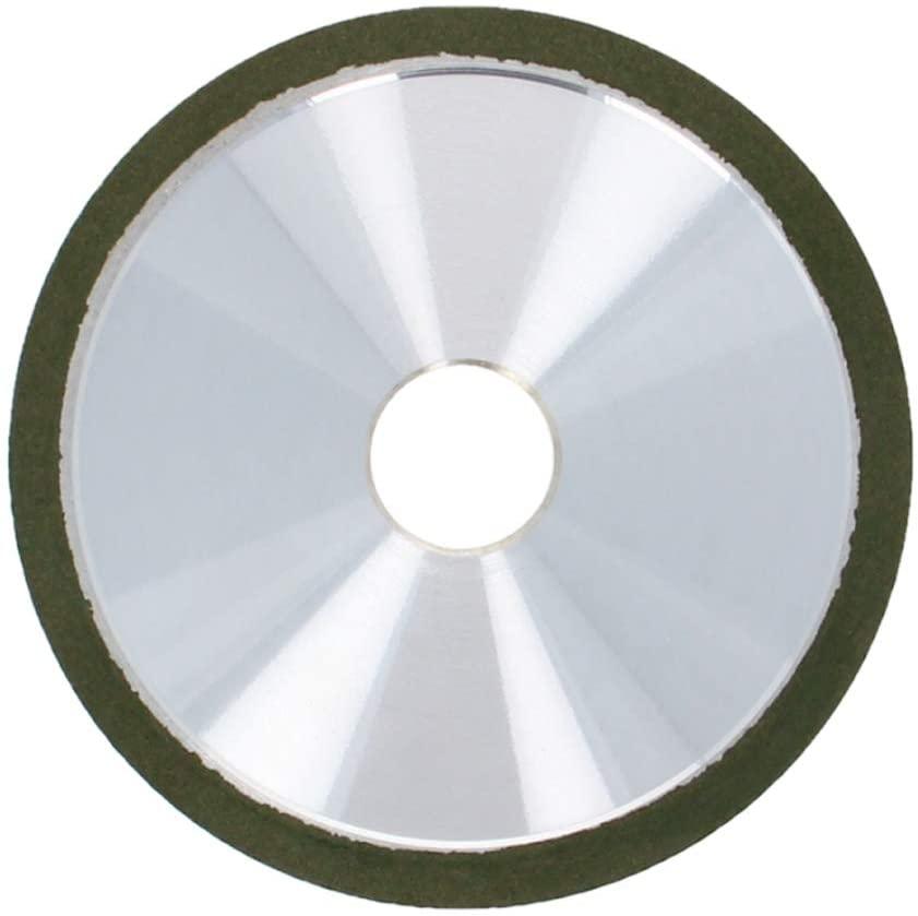 Utoolmart 4-Inch Flaring Cup Diamond Grinding Wheels Resin Bonded Abrasive Wheel for Carbide Metal 400 Grits 1pcs