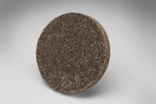 3M Scotch-Brite XL-UR Unitized Aluminum Oxide Medium Deburring Wheel - Medium Grade - Quick Change Attachment - 2 in Dia - 22100 Max RPM - 17192 [PRICE is per WHEEL]