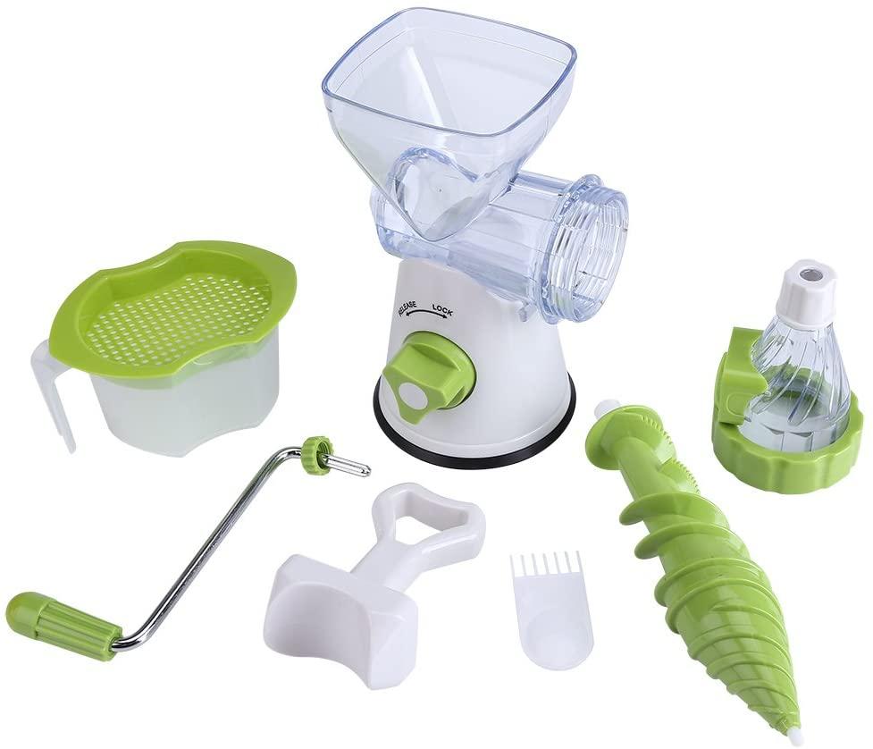 Portable Household Manual Juicer Multi-function Manual Fruit/Vegetable Juicer Kitchen Fresh Juicer Extractor