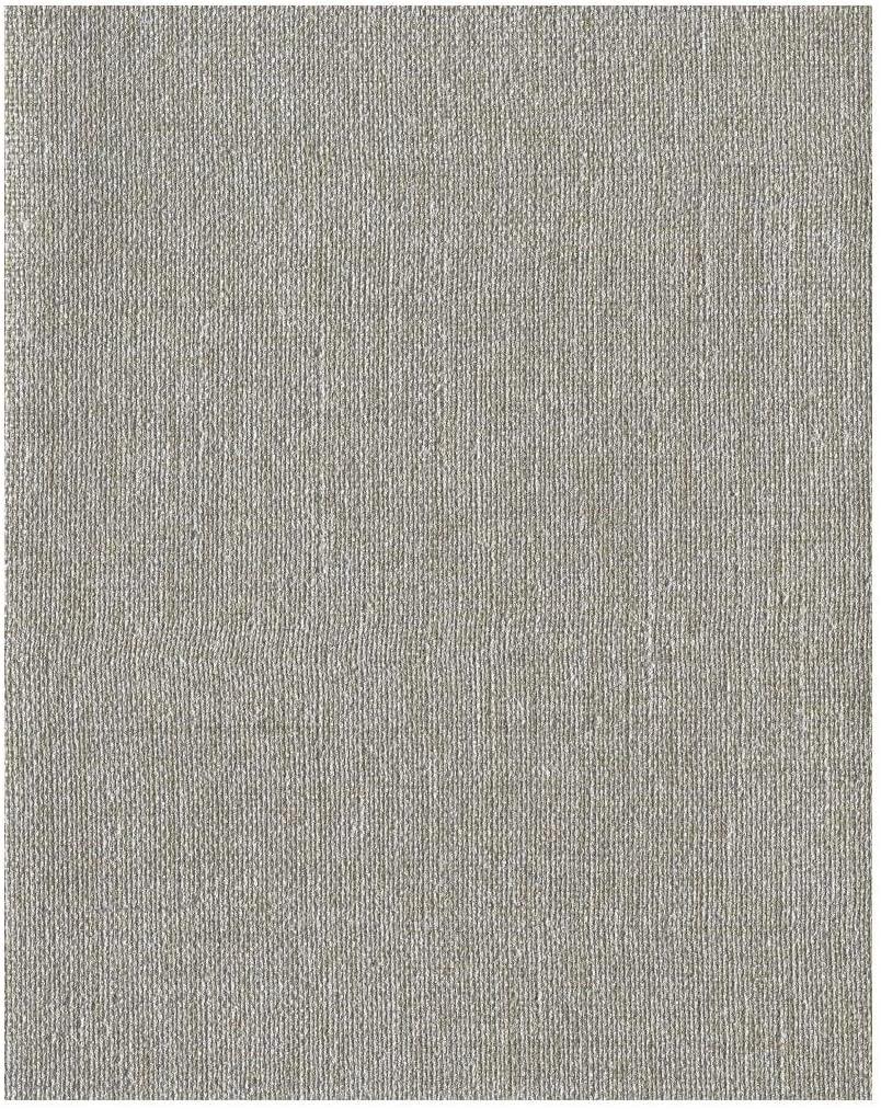 Monogram CW1611N Guilded High Performance Wallpaper, Metallic Silver