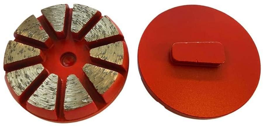 Diamond Grinding Puck #30/40 Grit for Husqvarna PG Floor Grinders for Efficient Concrete Grinding