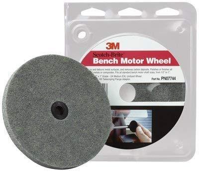 Scotch-Brite(TM) Bench Motor Wheel 07744, 5 per case