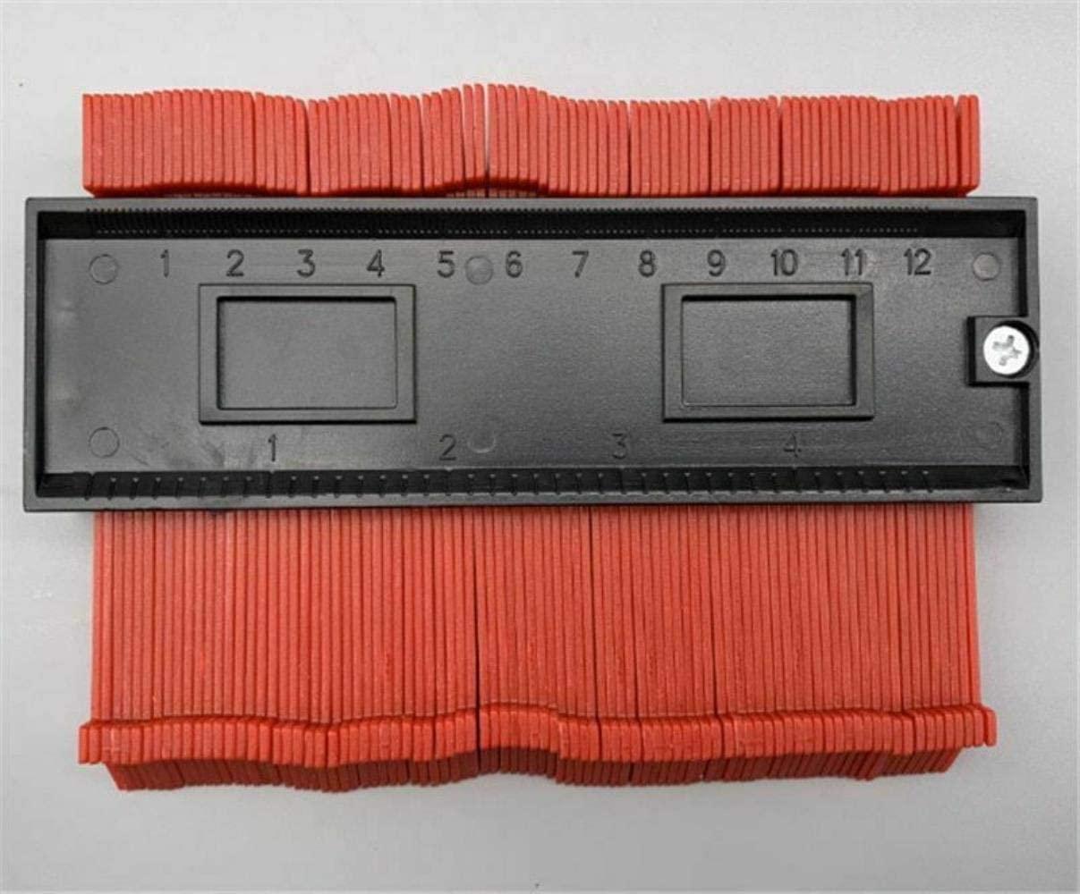 Contour Gauge,Wood Marking Tool Tiling Laminate Gauge Contour Profile Copy Gauge Duplicator,A