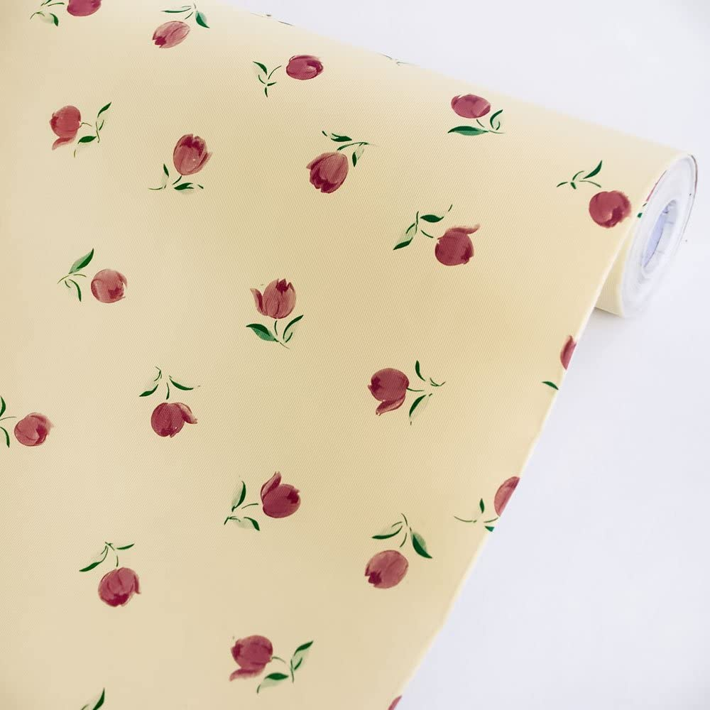 Blooming Tulip - Self-Adhesive Wallpaper Home Decor(Sample)