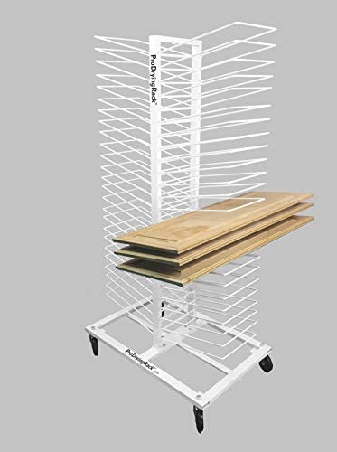 Easily Dry Up to 50 Newly Painted Cabinet Doors with Our Amazing Drying Rack (ProDryingRack). Perfect for Commercial Painters, Renovators & Cabinet Makers.