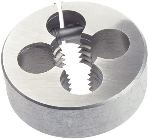 Morse Cutting Tools 31171 - Round Split Die - 3/8 – 16 Thread, Carbon Steel, UNC Thead Standard, 1 in OD