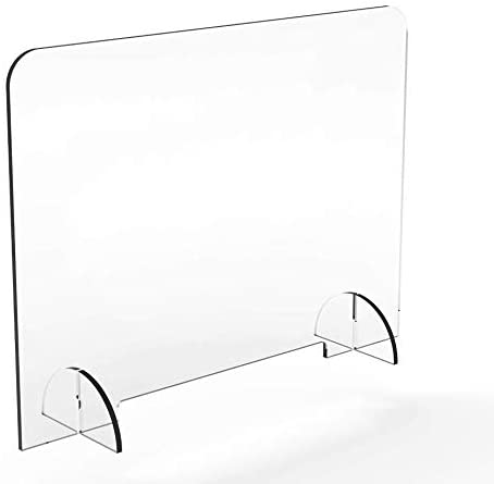 Sneeze Guard- Protective Shield Display (30 W x 36 H)