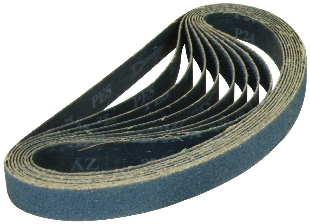1x30 Zirconia Alumina 36 Grit Sander Belt, y-Weight<br>A&H Abrasives 108572x10, 100-pack