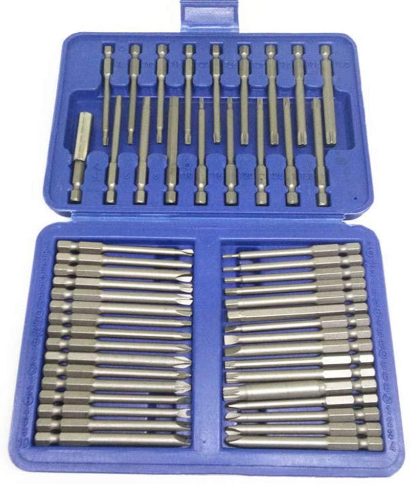 iplusmile 50pcs Magnetic Cross Screwdriver Drill Screwdriver bit Set Screw bits Power Tools