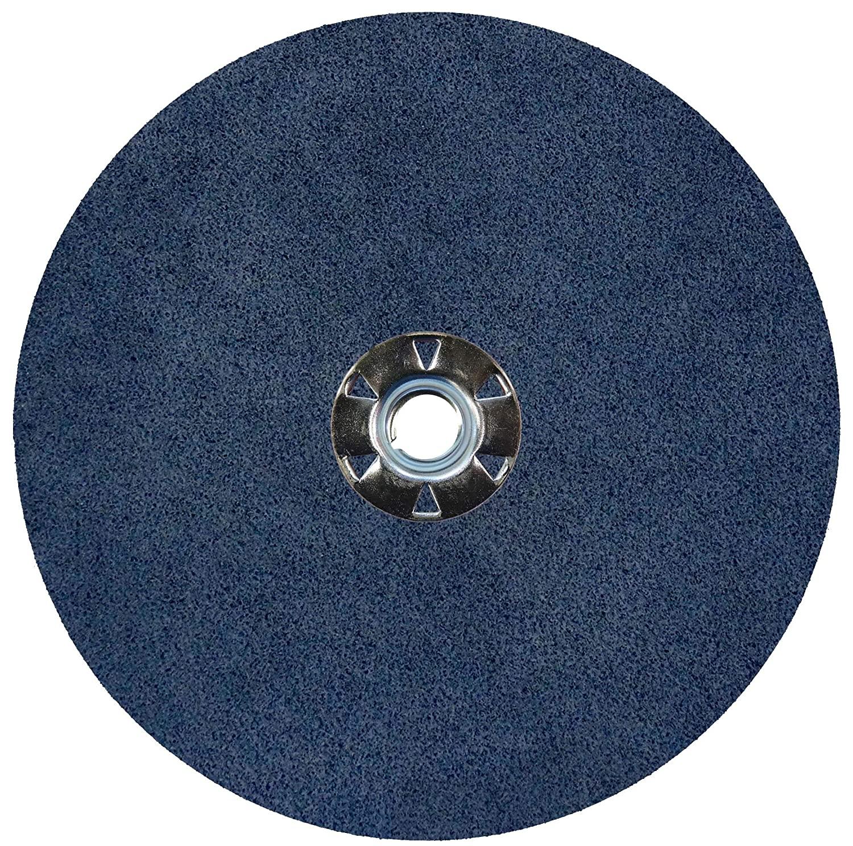 Weiler 62077 Wolverine Zirconia Alumina Resin Fiber Sanding & Grinding Disc, 7