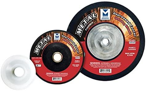 Mercer Industries Flexible Grinding Wheel for Metal, (20 Pack), 4-1/2