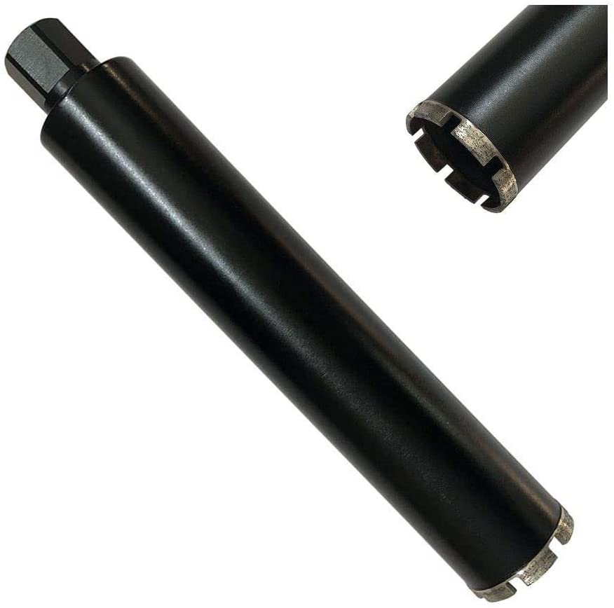 Supreme Wet Drill Core Bits for High PSI/Reinforced Concrete 3-1/4