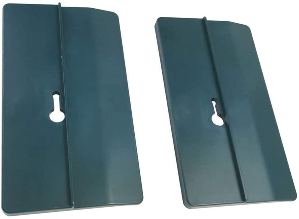SOONHUA 2 Pcs Drywall Fitting Tool, Plasterboard Fitting Tool Ceiling Positioning Plate Plasterboard Fixing Tool